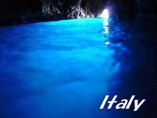 イタリア・カプリ島・青の洞窟